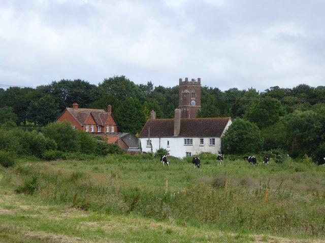 Sowton village