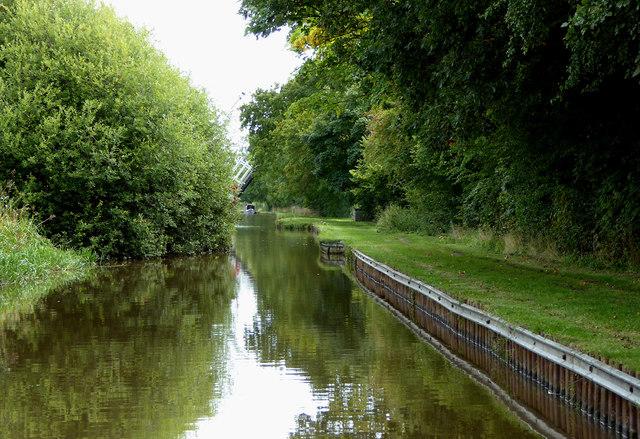 Llangollen Canal west of Wrenbury in Cheshire