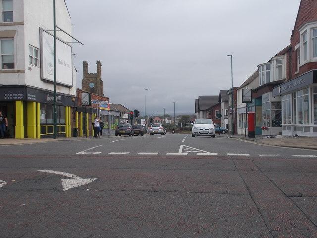 Un-named Street - High Street