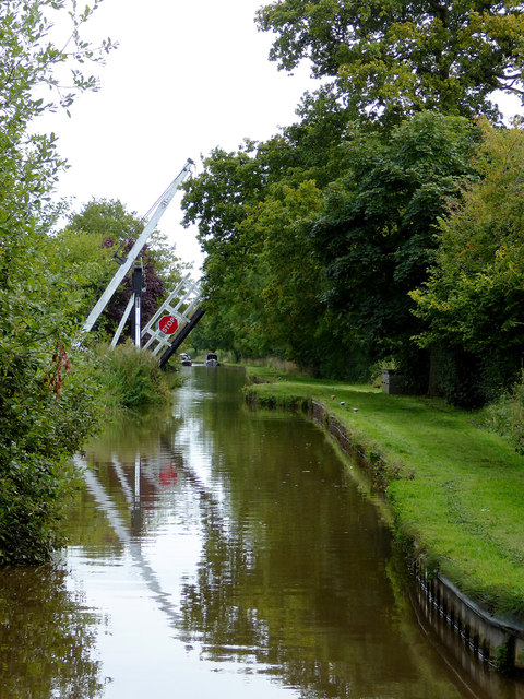 Llangollen Canal west of Wrenbury in Cheshire