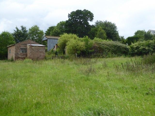Farm buildings near Bishop's Court