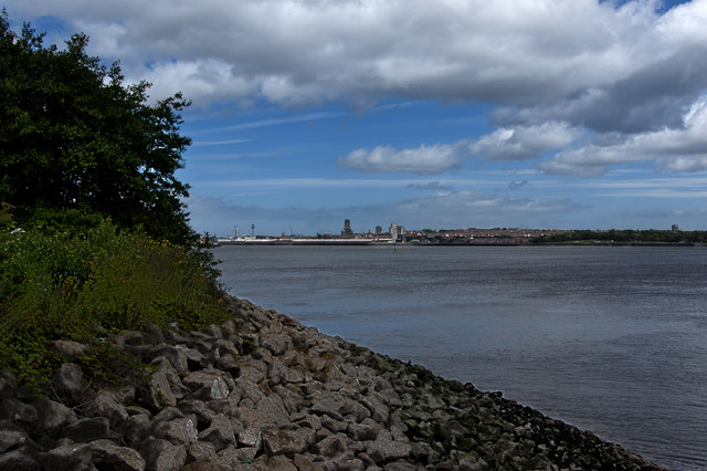The River Mersey from Port Sunlight River Park