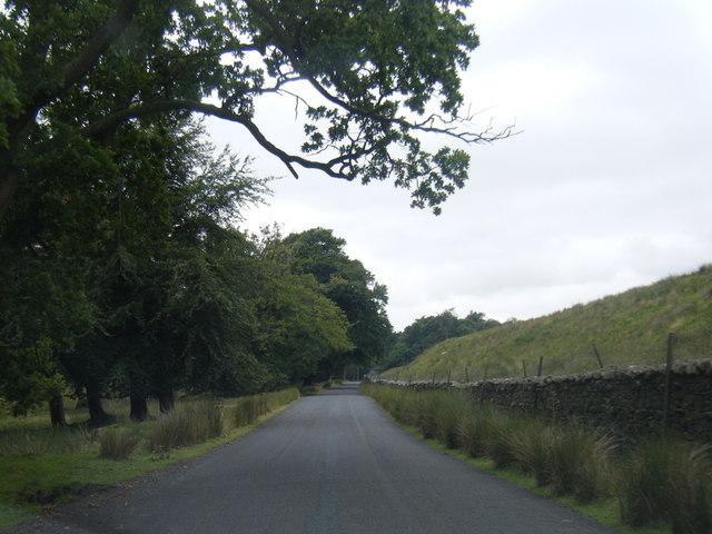Trough of Bowland road near Marshaw Wyre