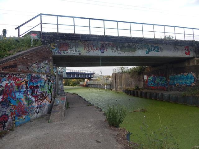 Railway bridges, Sproughton