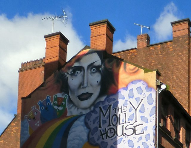 Molly House Mural (detail)