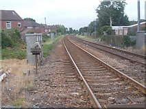 NZ6024 : View from Level Crossing - Redcar Lane by Betty Longbottom