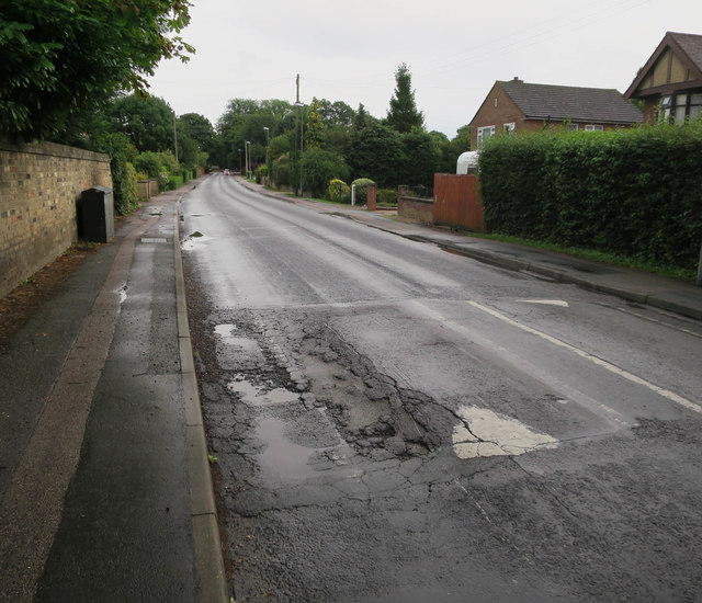 Speed bump, Impington Lane