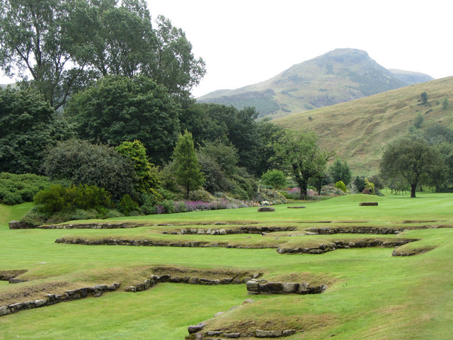 Grounds of Holyrood Abbey