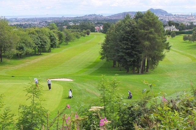 Murrayfield golf course