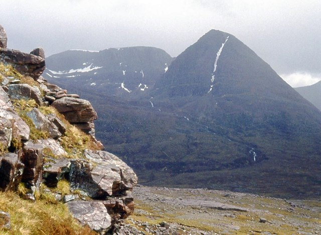 Southwest footings of Beinn a' Chearcaill