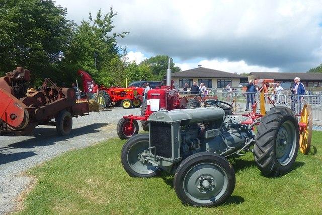 Vintage tractors, Royal Welsh Show