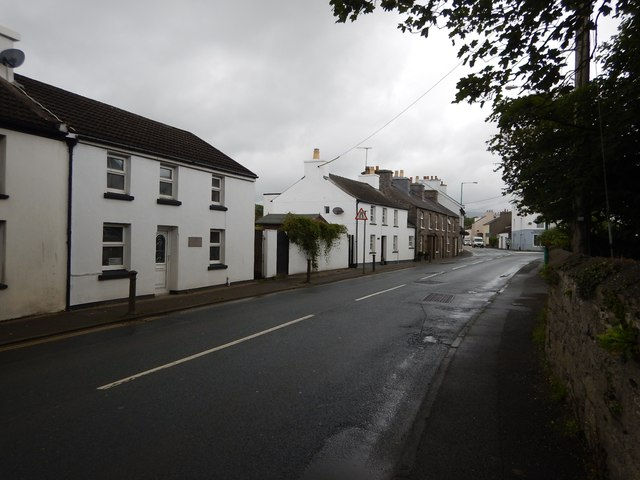 Ballasalla - Houses on the Main Road A5