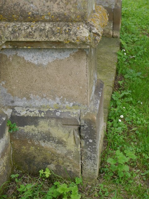 Cut Mark: Biscathorpe St Helen's Church