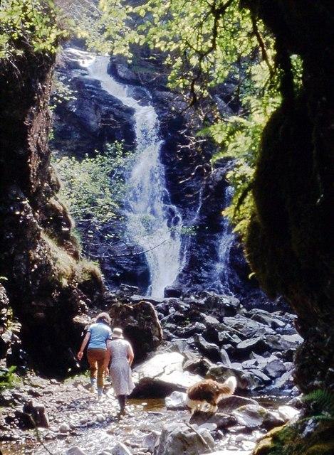 Exploring Corrimony Falls