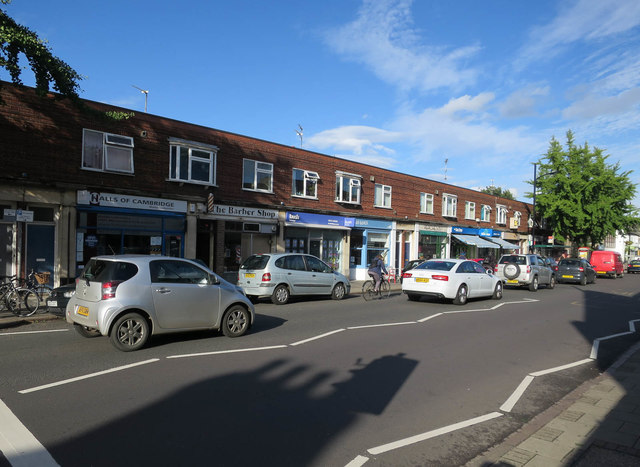 Shops on Mill Road