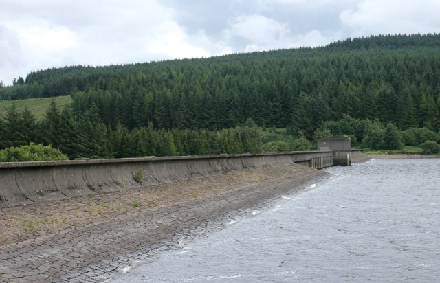 East Dam, Carron Valley Reservoir