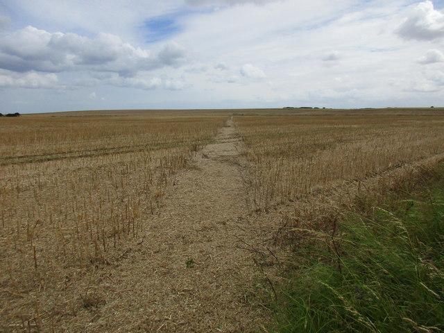 Bridleway to Garton