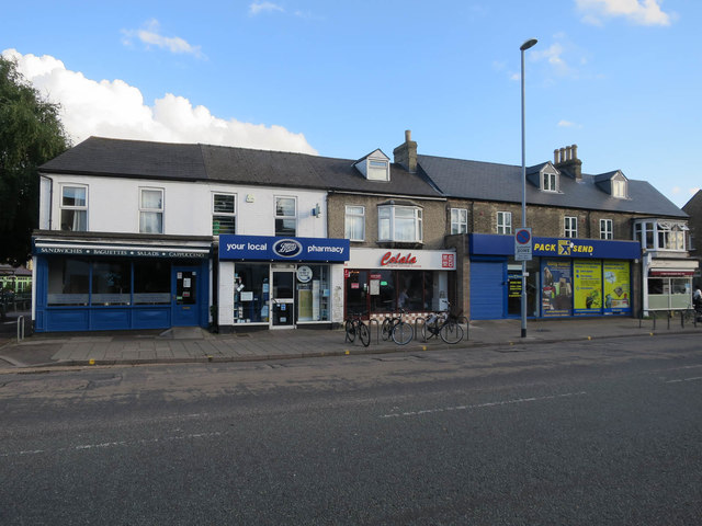 Shops on Chesterton Road