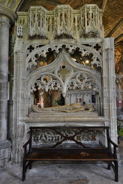 Tewkesbury Abbey: The Wakeman Cenotaph 2