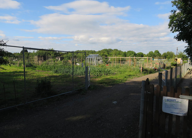 Allotments, Duxford