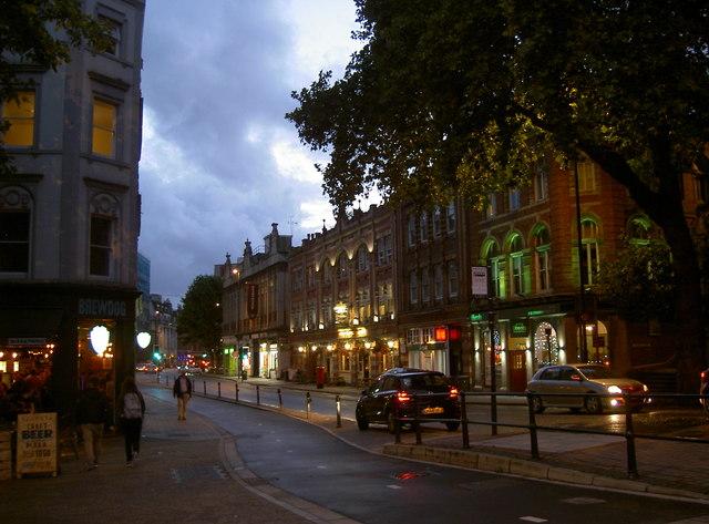 Baldwin Street in the evening
