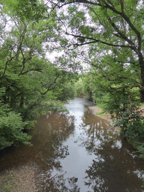 River Yeo seen from Yeoton Bridge