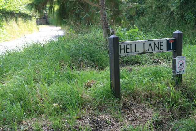 Hell Lane, North Chideock