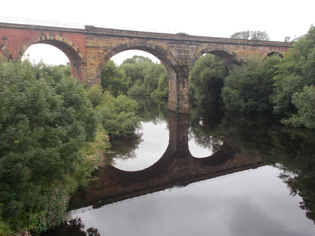 View of River Tees from Yarm Bridge