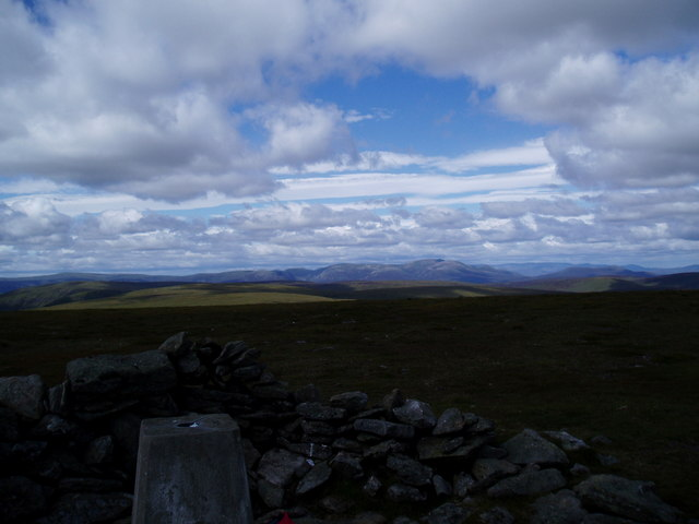 Trig Point on The Goet, Ben Tirran
