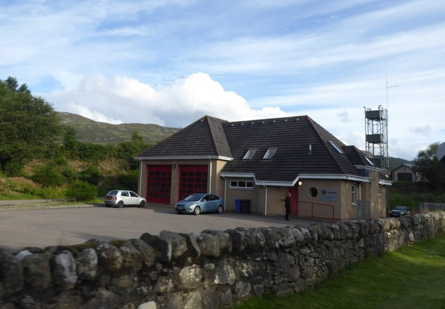 Fire station at Fort Augustus
