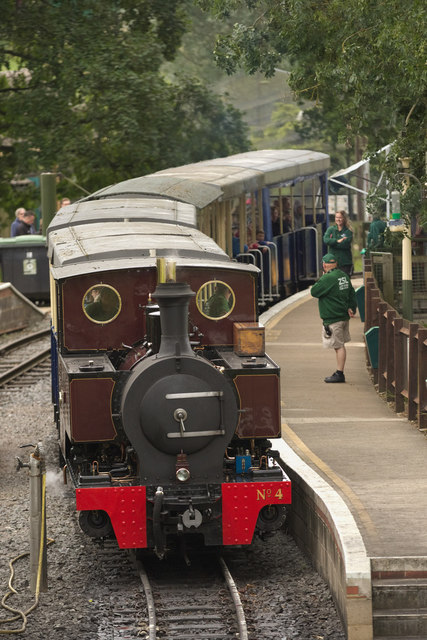 Steam Train, Whipsnade Zoo
