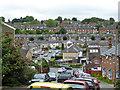 SP9602 : Hillside houses, Chesham by Robin Webster