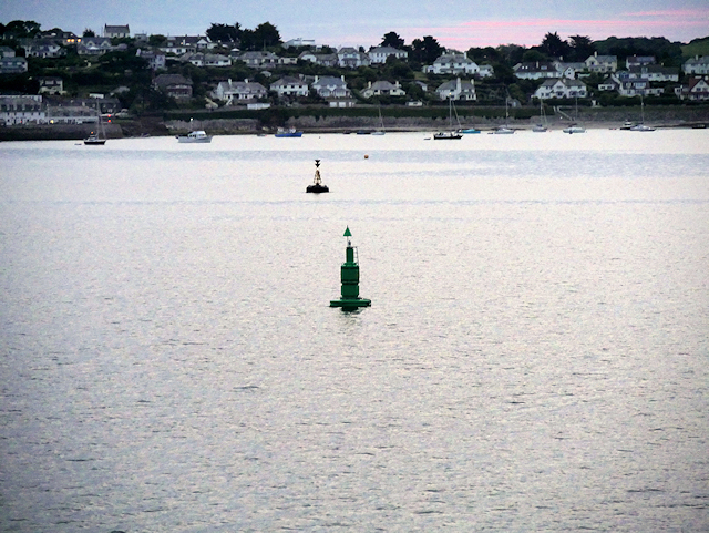 Castle Marker Buoy and St Mawes Bay