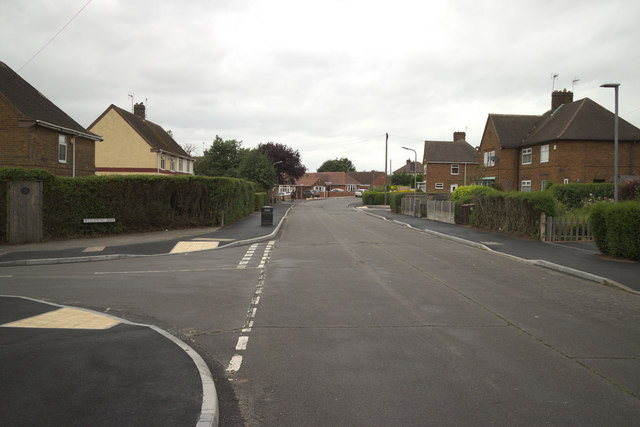New Eaton Road junction with Wellspring Dale