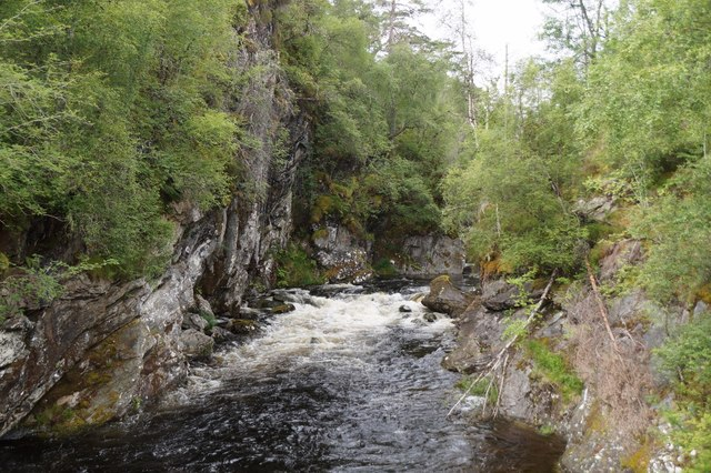 River Affric below Dog Falls