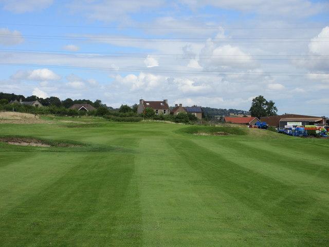 Elmwood Golf Course, 3rd hole, Roadhole