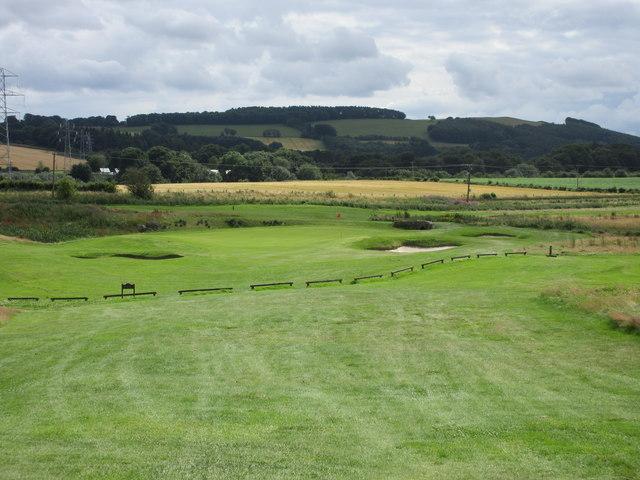 Elmwood Golf Course, 4th hole, Tarvit Hill