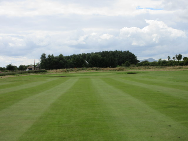 Elmwood Golf Course, 6th hole, Russell Mains