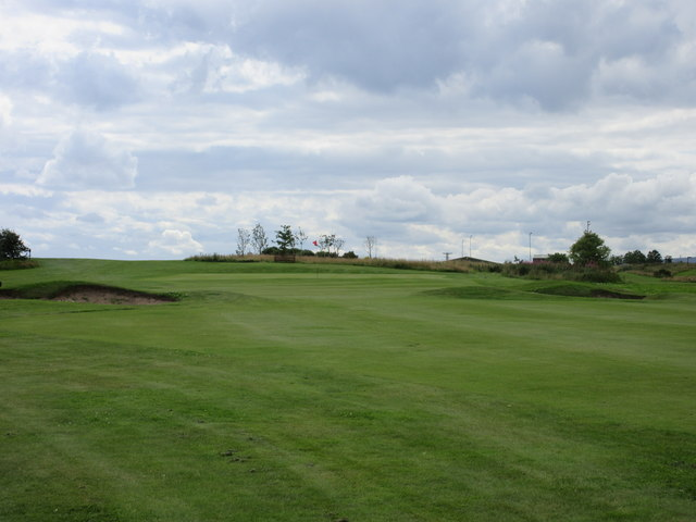 Elmwood Golf Course, 8th hole, The Crossing