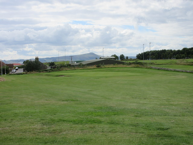 Elmwood Golf Course, 9th hole, Lomond Hills