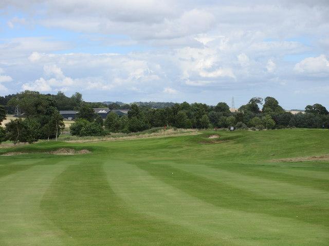 Elmwood Golf Course, 10th hole, The Ridge