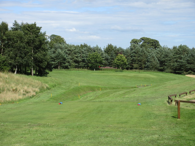 Elmwood Golf Course, 14th hole, O'er the Ditch