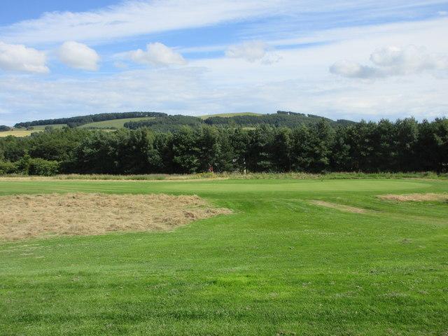 Elmwood Golf Course, 17th hole, Runway