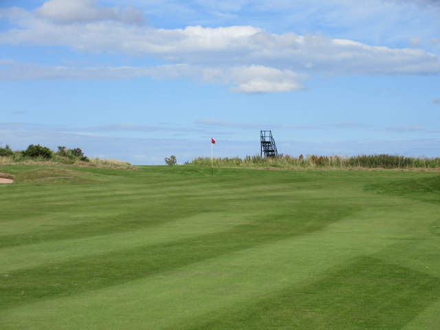 Elmwood Golf Course, 18th hole, The Old Dairy