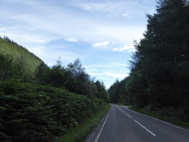A82 near Newtown