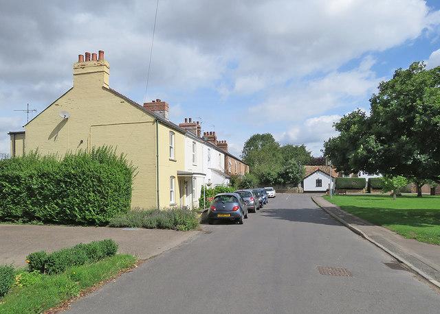 Hauxton: The Lane
