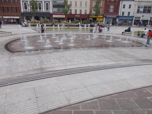 Water Feature - High Street