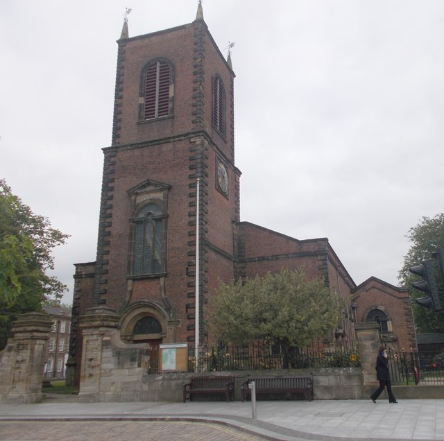 Stockton Parish Church - High Street