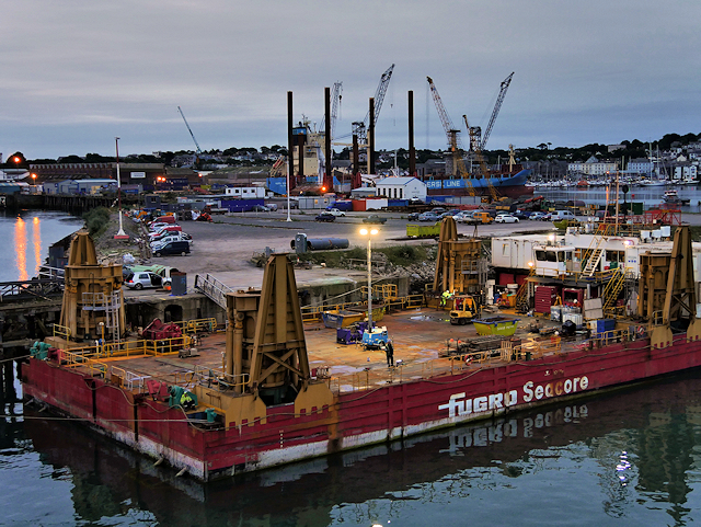 Falmouth Docks, Western Wharf