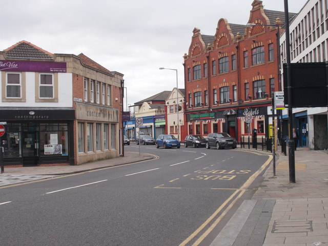 Bishopton Lane - viewed from High Street